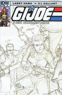Cover Thumbnail for G.I. Joe: A Real American Hero (IDW, 2010 series) #178 [Cover RI Larry Hama]