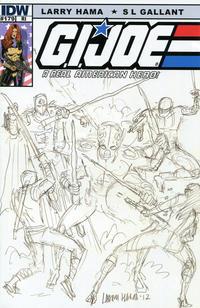 Cover Thumbnail for G.I. Joe: A Real American Hero (IDW, 2010 series) #179 [Cover RI Larry Hama]