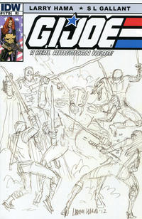 Cover Thumbnail for G.I. Joe: A Real American Hero (IDW, 2010 series) #179 [Cover RI Larry Hama]