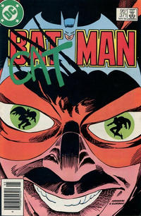 Cover for Batman (DC, 1940 series) #371 [Direct]