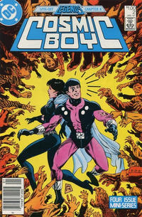 Cover Thumbnail for Cosmic Boy (DC, 1986 series) #2 [Canadian]