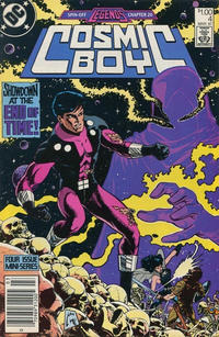 Cover Thumbnail for Cosmic Boy (DC, 1986 series) #4 [Canadian]