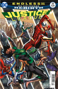 Cover Thumbnail for Justice League (DC, 2016 series) #20 [Newsstand]