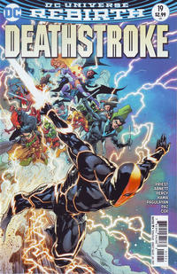 Cover Thumbnail for Deathstroke (DC, 2016 series) #19 [Ivan Reis Cover]
