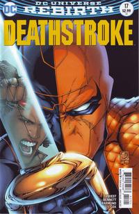 Cover Thumbnail for Deathstroke (DC, 2016 series) #17 [Shane Davis Cover Variant]
