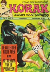 Cover Thumbnail for Korak Classics (Classics/Williams, 1966 series) #2081