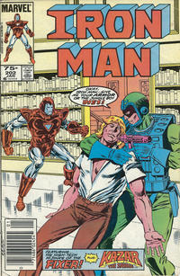 Cover Thumbnail for Iron Man (Marvel, 1968 series) #202 [Newsstand Edition]