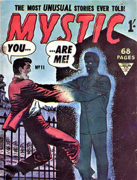 Cover Thumbnail for Mystic (L. Miller & Son, 1960 series) #11