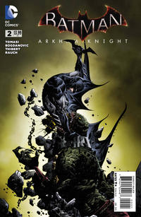 Cover Thumbnail for Batman: Arkham Knight (DC, 2015 series) #2 [Jae Lee Cover]