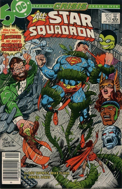 Cover for All-Star Squadron (DC, 1981 series) #53 [Direct Edition]