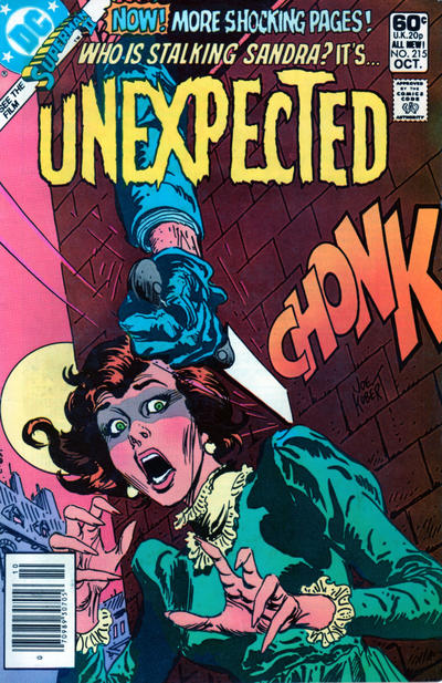 Cover for The Unexpected (DC, 1968 series) #215 [Newsstand]