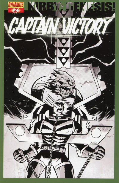 Cover for Kirby: Genesis - Captain Victory (Dynamite Entertainment, 2011 series) #2 [Cover A]