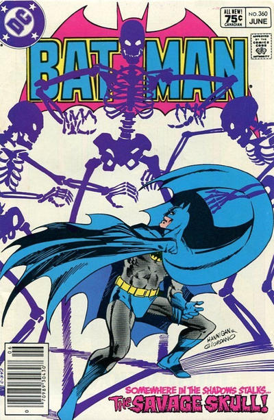 Cover for Batman (DC, 1940 series) #360 [Canadian]