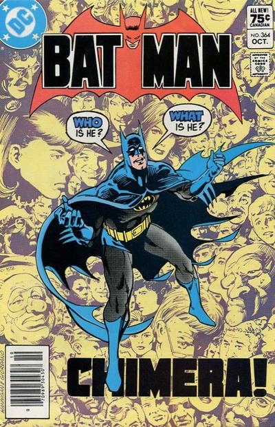 Cover for Batman (DC, 1940 series) #364 [Direct]