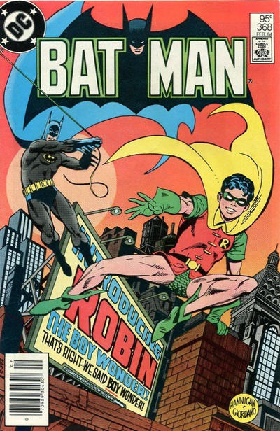 Cover for Batman (DC, 1940 series) #368 [Direct]