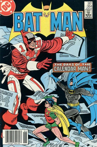 Cover for Batman (DC, 1940 series) #384 [Direct Edition]