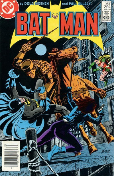 Cover for Batman (DC, 1940 series) #394 [Newsstand Edition]