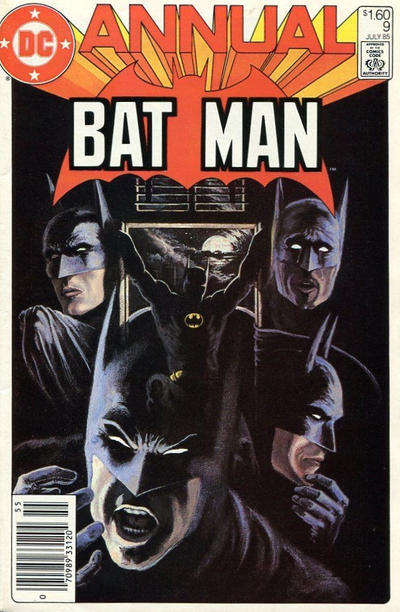 Cover for Batman Annual (DC, 1961 series) #9 [Direct Edition]