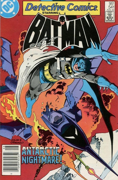 Cover for Detective Comics (DC, 1937 series) #541 [direct-sales]