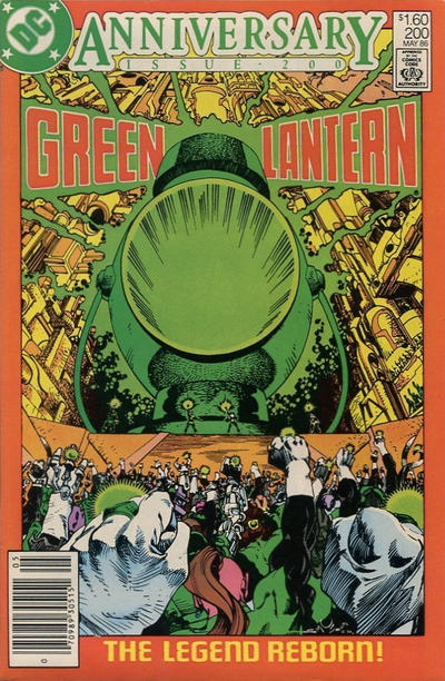 Cover for Green Lantern (DC, 1976 series) #200 [Direct Edition]