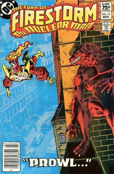 Cover for The Fury of Firestorm (DC, 1982 series) #10 [Direct Sales]