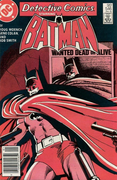 Cover for Detective Comics (DC, 1937 series) #546 [Direct]