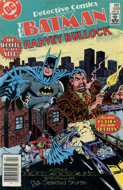Cover for Detective Comics (DC, 1937 series) #549 [Newsstand]
