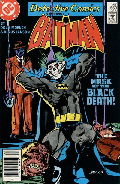 Cover for Detective Comics (DC, 1937 series) #553 [Direct Sales]
