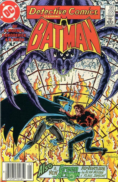 Cover for Detective Comics (DC, 1937 series) #550 [Direct Edition]