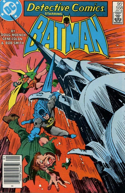 Cover for Detective Comics (DC, 1937 series) #558 [Direct Sales]