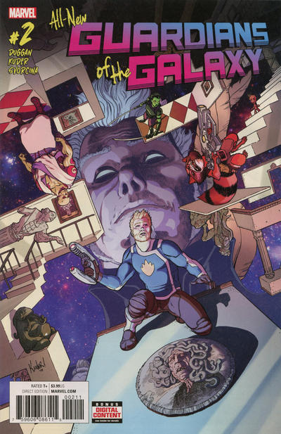 Cover for All-New Guardians of the Galaxy (Marvel, 2017 series) #2 [Incentive Niko Henrichon Variant]