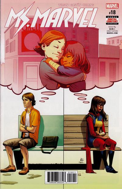 Cover for Ms. Marvel (Marvel, 2016 series) #18