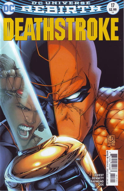 Cover for Deathstroke (DC, 2016 series) #17 [Bill Sienkiewicz Cover Variant]