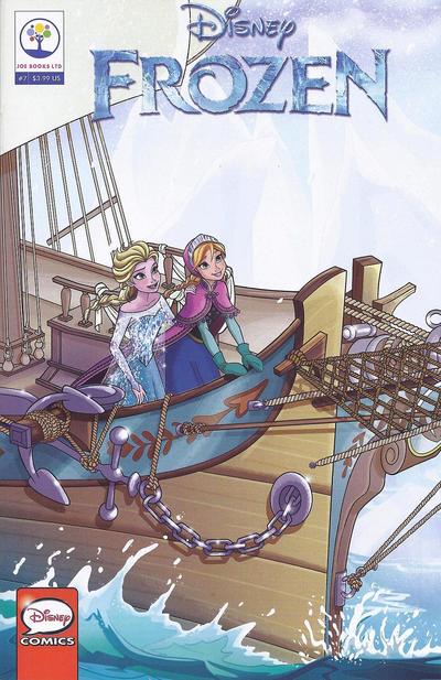 Cover for Disney Frozen (Joe Books, 2016 series) #7