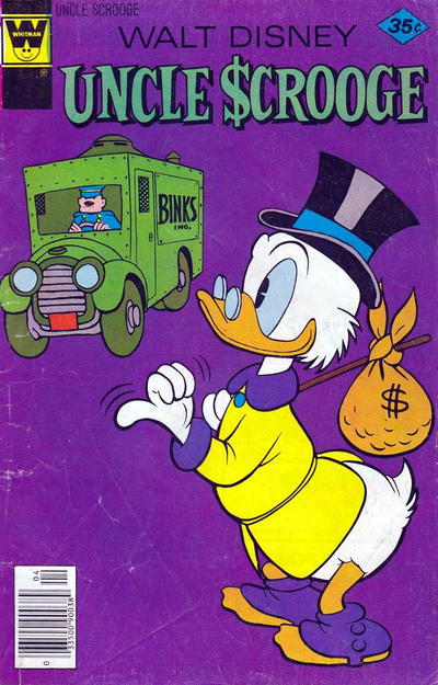 Cover for Uncle Scrooge (Western, 1963 series) #151 [Gold Key]