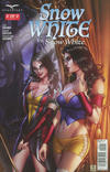 Cover for Snow White vs. Snow White (Zenescope Entertainment, 2016 series) #2 [Cover B - Mike Krome]