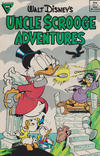 Cover for Walt Disney's Uncle Scrooge Adventures (Gladstone, 1987 series) #6 [Newsstand]