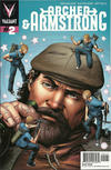 Cover for Archer and Armstrong (Valiant Entertainment, 2012 series) #2 [Cover B - Patrick Zircher]