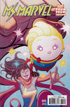 Cover for Ms. Marvel (Marvel, 2016 series) #10 [Incentive 'Marvel Tsum Tsum Takeover' Tradd Moore Variant]
