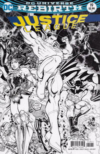 Cover Thumbnail for Justice League (DC, 2016 series) #19 [Nick Bradshaw Cover]