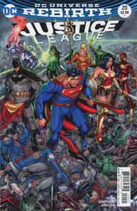 Cover Thumbnail for Justice League (DC, 2016 series) #20 [Nick Bradshaw Cover]