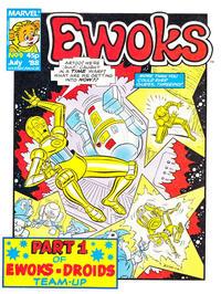 Cover Thumbnail for Ewoks (Marvel UK, 1987 series) #9