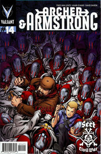 Cover Thumbnail for Archer and Armstrong (Valiant Entertainment, 2012 series) #14 [Cover A - Khari Evans]