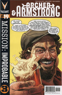 Cover Thumbnail for Archer and Armstrong (Valiant Entertainment, 2012 series) #19 [Cover A - Lewis LaRosa]