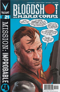 Cover Thumbnail for Bloodshot and H.A.R.D.Corps (Valiant Entertainment, 2013 series) #21 [Cover A - Lewis LaRosa]