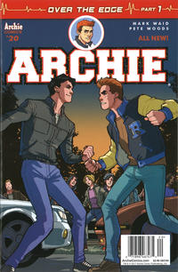 Cover Thumbnail for Archie (Archie, 2015 series) #20 [Newsstand - Pete Woods]