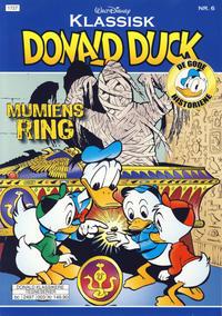 Cover Thumbnail for Klassisk Donald Duck (Hjemmet / Egmont, 2016 series) #6 - Mumiens ring