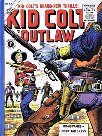 Cover Thumbnail for Kid Colt Outlaw (Thorpe & Porter, 1950 ? series) #22