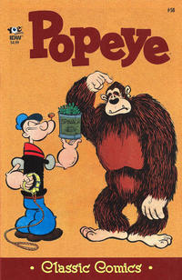 Cover Thumbnail for Classic Popeye (IDW, 2012 series) #58