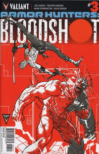 Cover Thumbnail for Armor Hunters: Bloodshot (Valiant Entertainment, 2014 series) #3 [Cover B - Riley Rossmo]